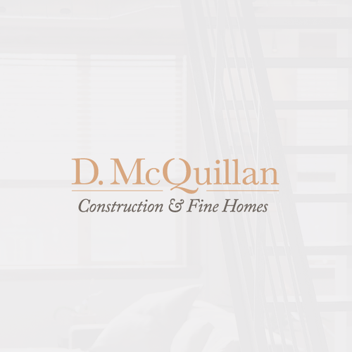 Serif design with the title 'High End Construction Company Looking for a High End Design'