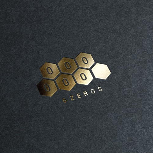 Award design with the title '6 zeros'