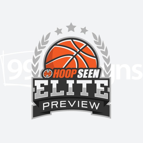 High school logo with the title 'Elite Preview Logo'