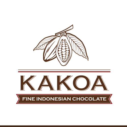 Badge logo with the title 'Create the next logo for Kakoa'
