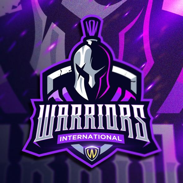 International logo with the title 'Warriors International'