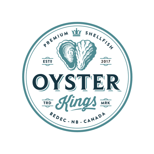 King design with the title 'Oysters Kings'
