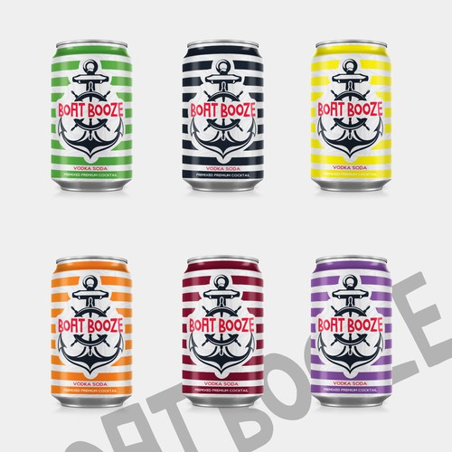 Beer can design with the title 'Beer Can Design'