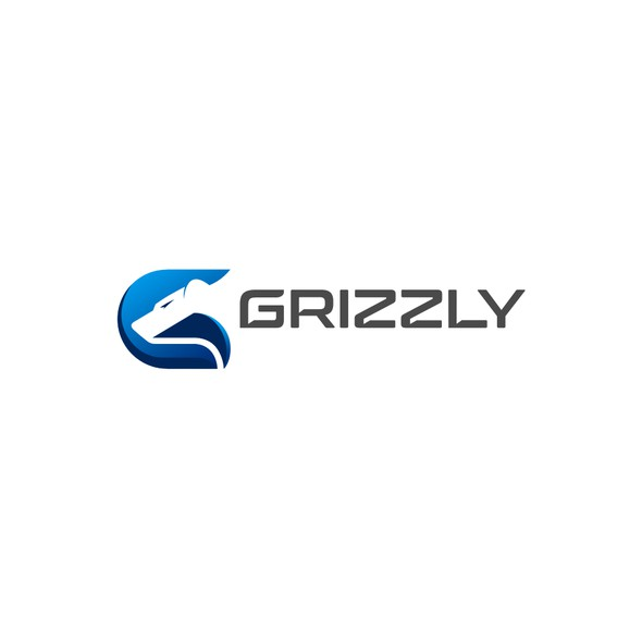 Grizzly logo with the title 'Grizzly Logo (for sale)'