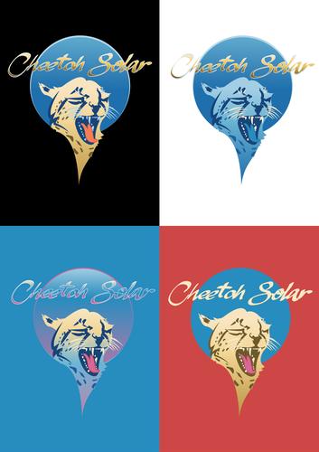 Cheetah logo with the title 'Cheetah Solar. '