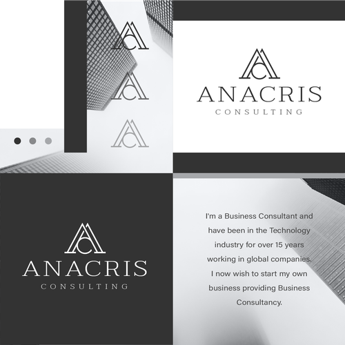 Global design with the title 'Anacris Consulting'