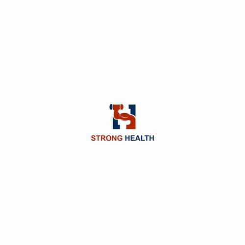 OK logo with the title 'https://99designs.com/logo-design/contests/stronghealth-logo-nextgen-men-healthcare-site-needed-841685/entries'