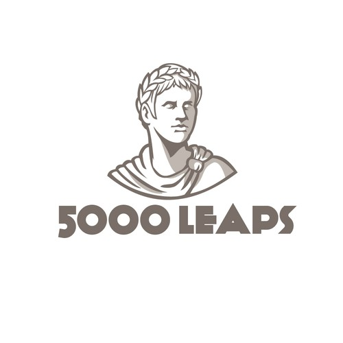 Roman logo with the title '5000 Leaps'