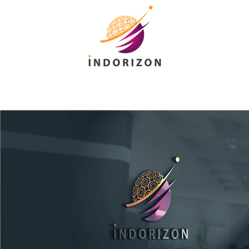 Horizon design with the title 'IndoRizon Logo'