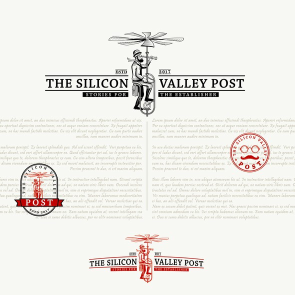 Machine brand with the title 'The Silicon Valley post'