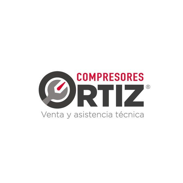 Car care logo with the title 'Compresores Ortiz'