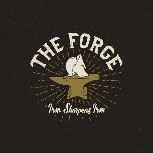 Handcraft logo with the title 'The Forge Logo Design'