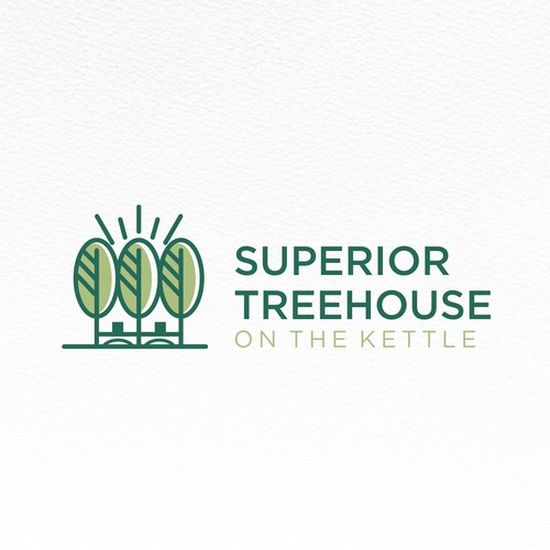 Treehouse logo with the title 'Superior Treehouse'