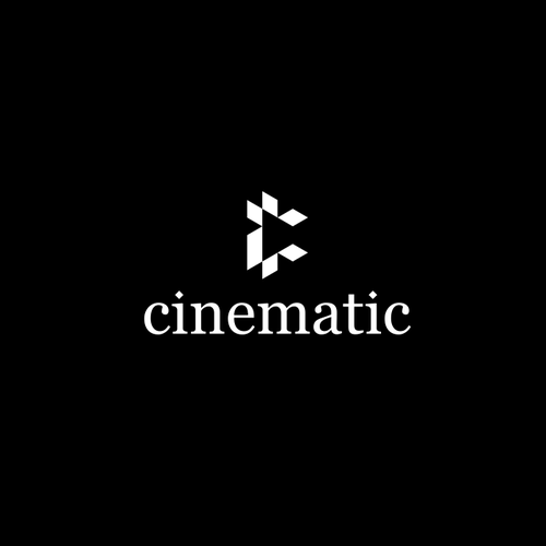 Cinematographer and cinematography logo with the title 'cinematic'