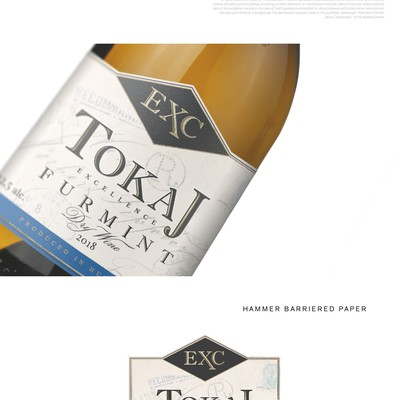 Wine label for Tokaj