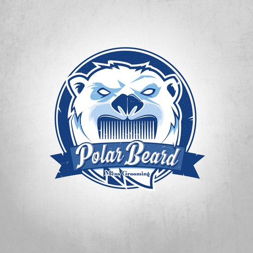 Comb design with the title 'Polar Beard'