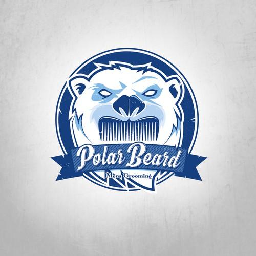 Comb design with the title 'Polar Beard'