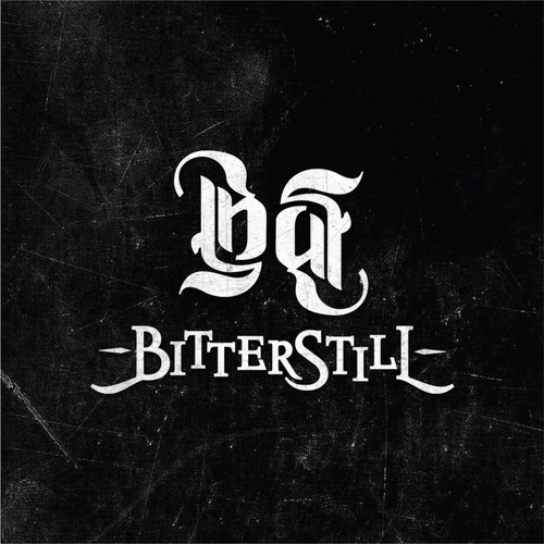 Ambigram design with the title 'BitterStill'