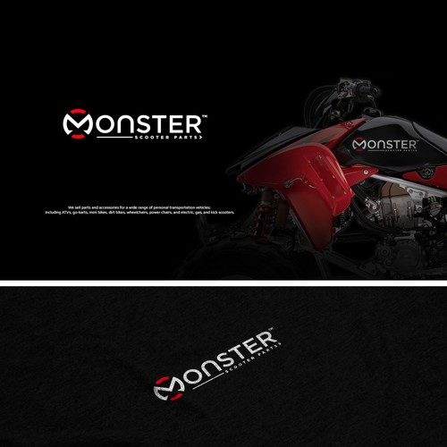 Monster logo with the title 'Monster'