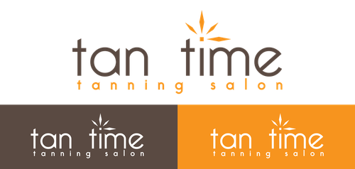 Tanning logo with the title 'Tanning Logo'