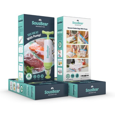 Sous Vide Kit with Pump Packaging