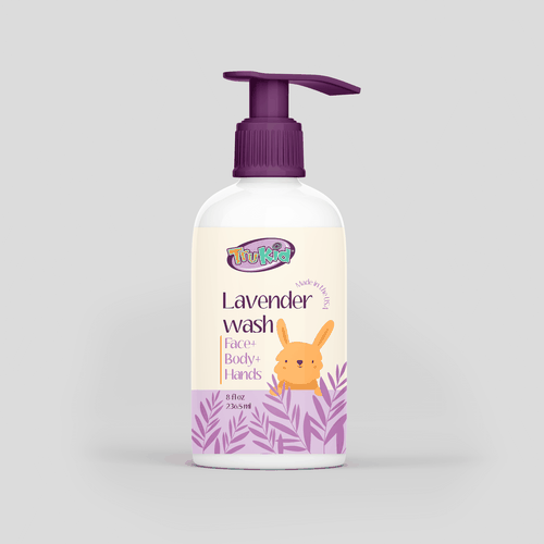 Dispensary design with the title 'Lavander wash'