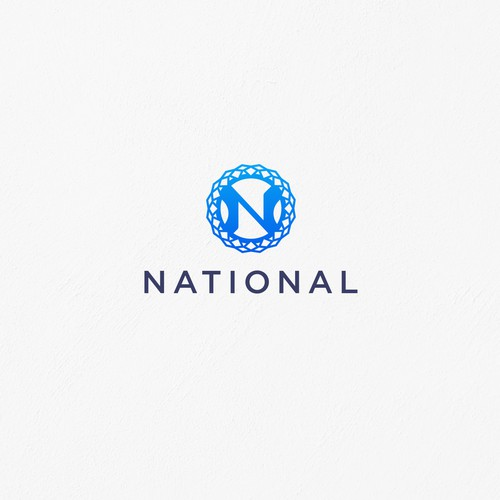 Alphabet logo with the title 'Initial N Logo Design for restaurants'