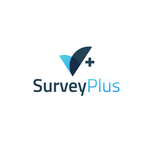 Gradient logo with the title 'SurveyPlus'