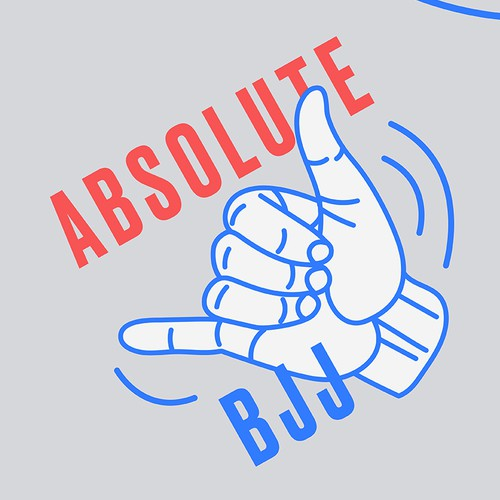 Unusual logo with the title 'Absolute BJJ'