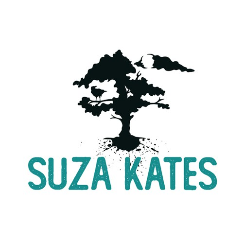 Author logo with the title 'Suza Kates'