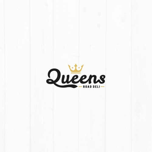 Queen logo with the title 'Queens logo'