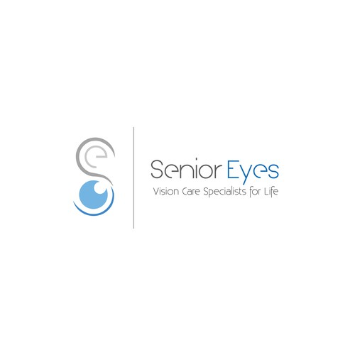 Senior logo with the title 'Logo for vision care company'