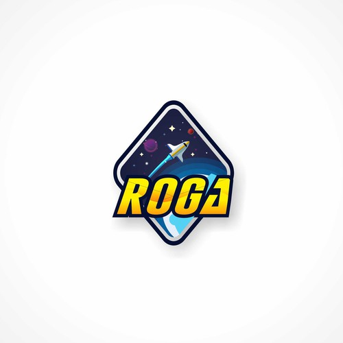 Satellite logo with the title 'GALXI satellite Roga'