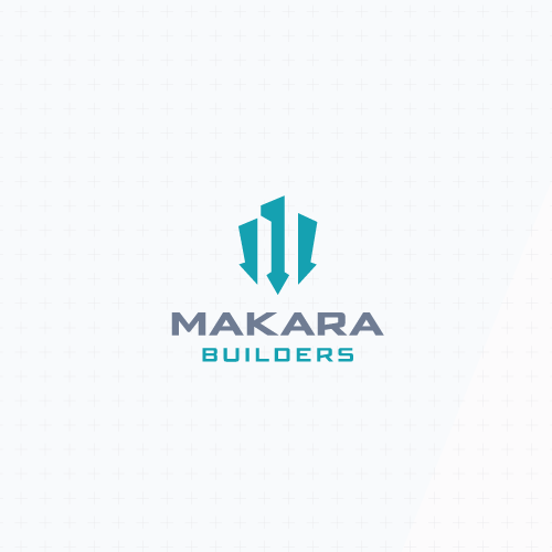 Residential logo with the title 'Modern and abstract logo'