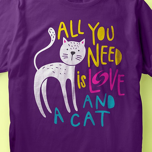 Love t-shirt with the title 'AllYouNeed'
