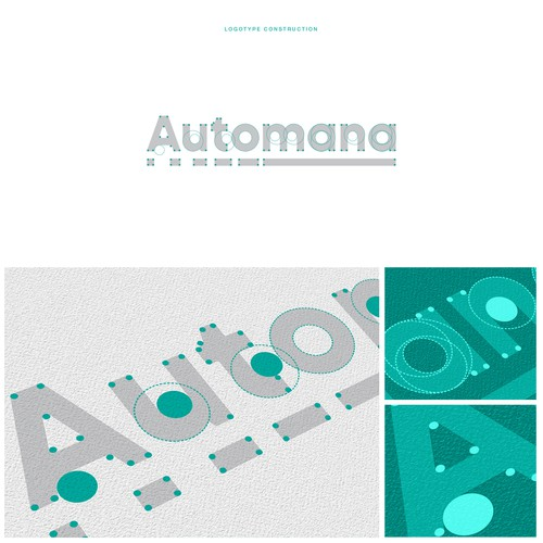 Social logo with the title 'Custom logotype for Automana'