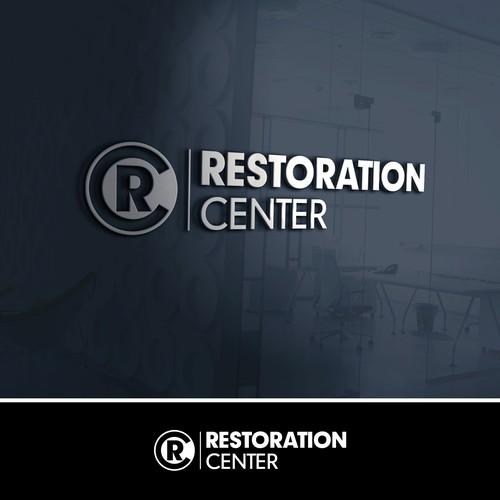 Restoration design with the title 'Restoration Center Of West Monroe'