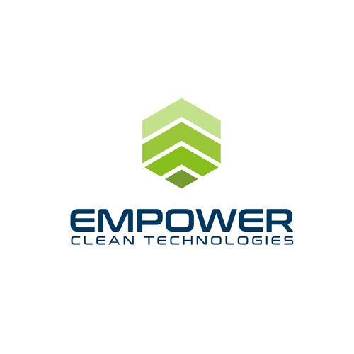 Recycling brand with the title 'Empower Clean Technologies'