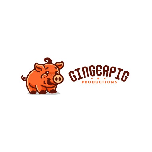 Pig design with the title 'GingerPig'