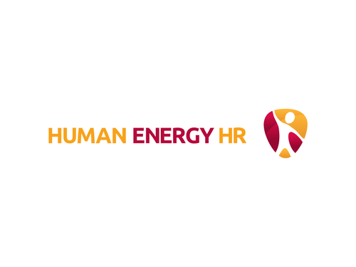 Human resources logo with the title 'Logo for a specialist recruitment company -- Human Energy HR'