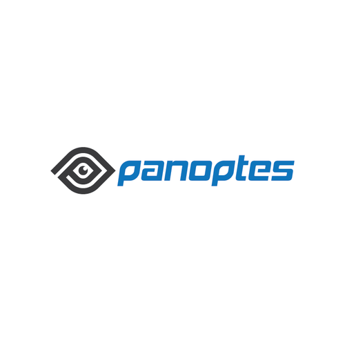 Blue and gray logo with the title 'Panoptes'