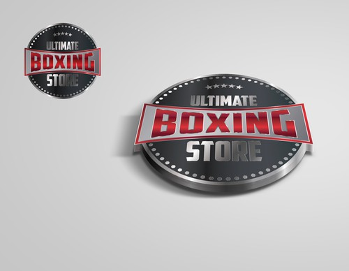 Shiny logo with the title 'This site is promting biggest boxing events to buy apparel and more'