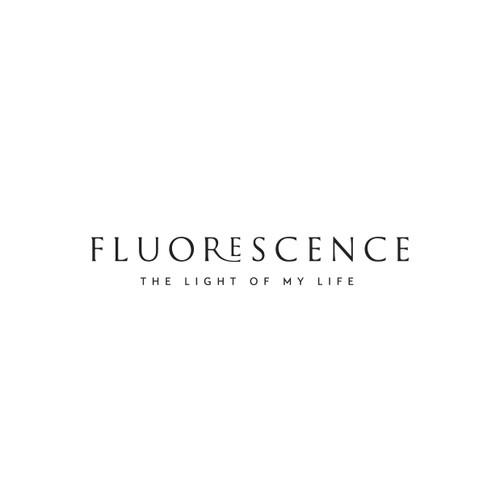 Bracelet design with the title 'FLUORESCENCE diamond jewelry'