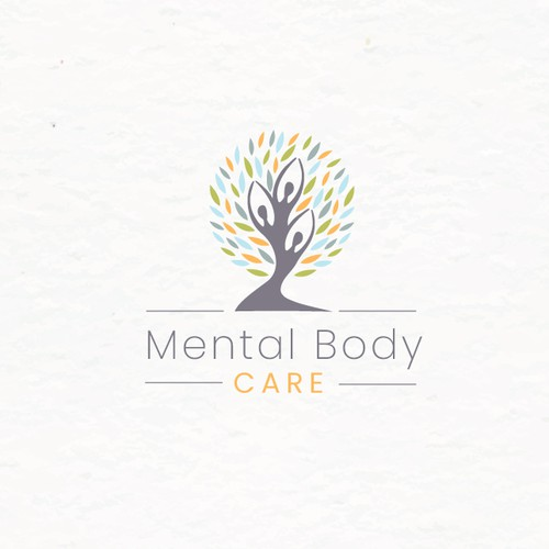 Psychotherapy logo with the title 'Logo for therapy'