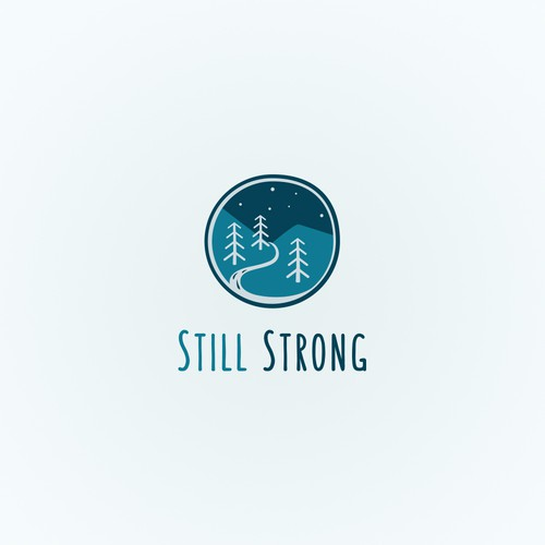 Calm logo with the title 'Logo for charity organization'