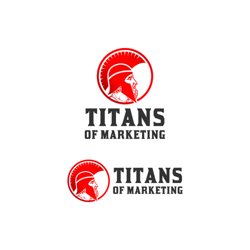 Titan logo with the title 'Titans of Marketing'
