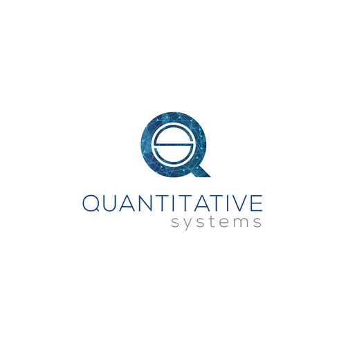 Quantum logo with the title 'tech logo attempt '