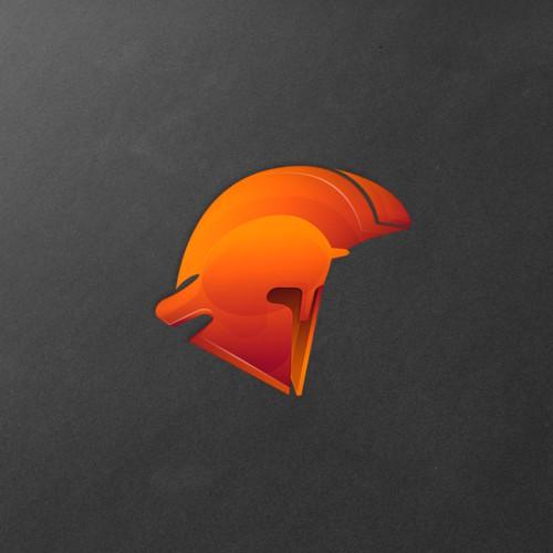 War design with the title 'AresCrypto logo design'