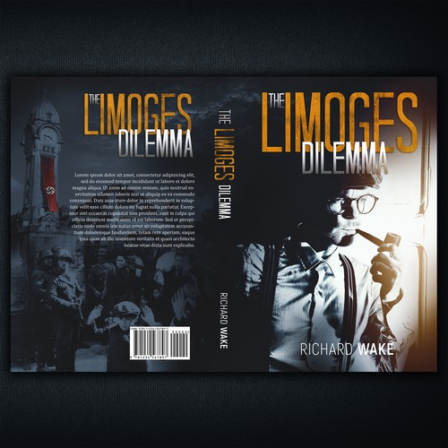 War book cover with the title 'The Limoges Dillema'