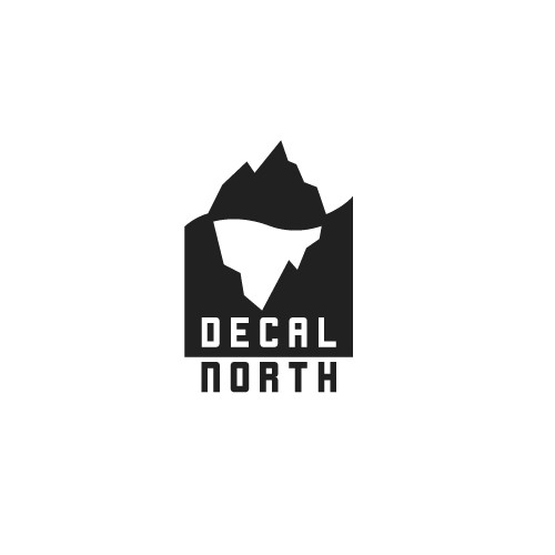 North logo with the title 'Decal North'